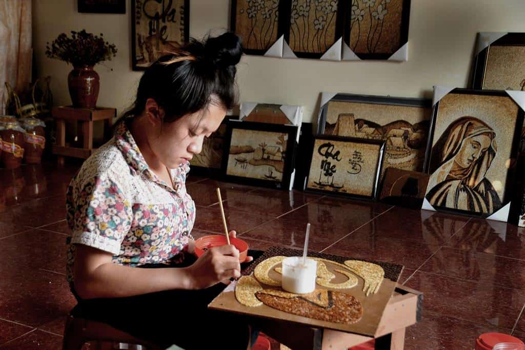 Meet Rice Artist Thao